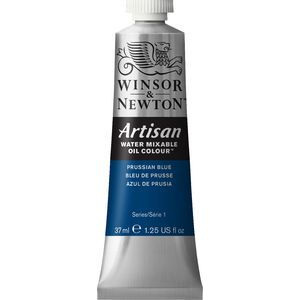 Winsor & Newton Oil Colour 37mL Prussian Blue S1