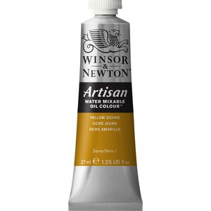 Winsor & Newton Oil Colour 37mL Yellow Ochre S1