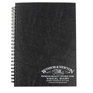 Winsor & Newton A5 Visual Art Diary 120 Page
