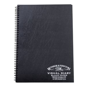 Winsor & Newton Black Paper A4 Visual Diary