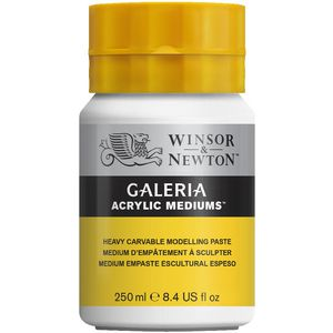 Winsor & Newton Galeria Heavy Carvable Modelling Paste 250mL
