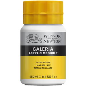 Winsor & Newton Galeria Acrylic Gloss Medium 250mL