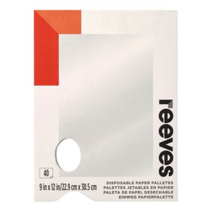 Reeves Tear Off Palette Pad 229 x 335mm