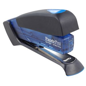 PaperPro 1123 Full Strip Desktop Stapler Blue