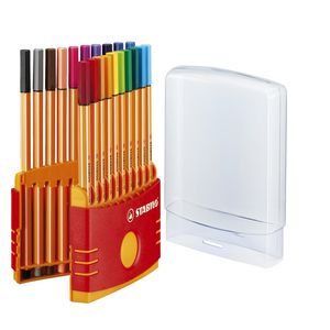 Stabilo Point 88 0.4mm Fineliner Assorted 20 Pack