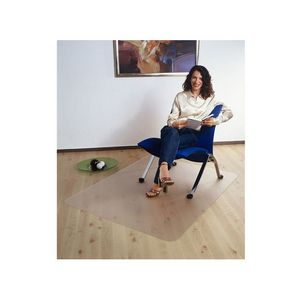 Floortex Polycarbonate Hard Floor Chair Mat at Officeworks in Campbellfield, VIC | Tuggl