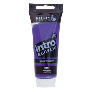 Reeves Acrylic Paint 100mL Violet