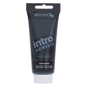 Reeves Acrylic Paint 100mL Mars Black