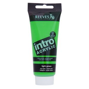 Reeves Acrylic Paint 100mL Light Green