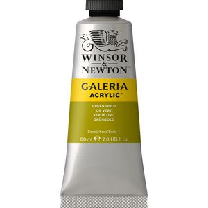 Winsor & Newton Acrylic Green Gold 60mL