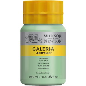 Winsor & Newton Galeria Acrylic Paint 250mL Pale Olive