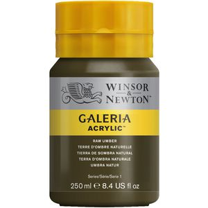Winsor & Newton Galeria Acrylic Paint 250mL Raw Umber