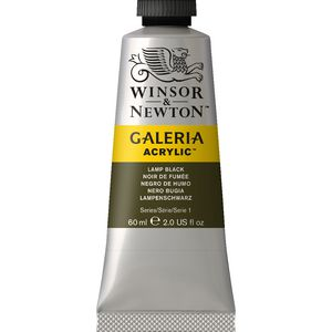 Winsor & Newton Galeria Acrylic Lamp Black 60mL
