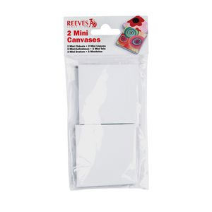 Reeves Mini Canvas White 2 Pack