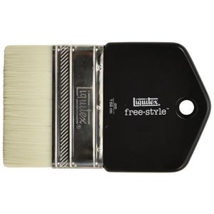 Liquitex Freestyle Broad Paddle Paintbrush 3""