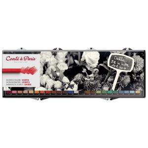 Conte Crayon Assorted 24 Pack