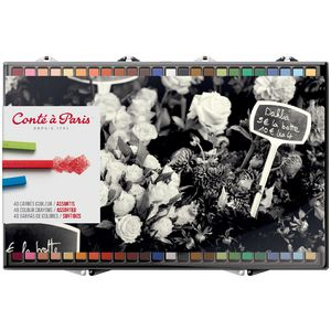 Conte Crayon Assorted 48 Pack
