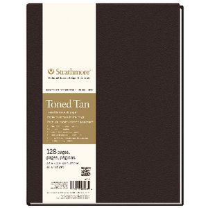 Strathmore Hardbound Tan Journal 8.5 x 11""