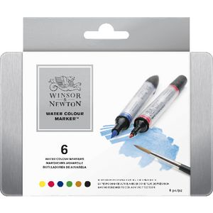 Winsor & Newton Watercolour Markers 6 Pack