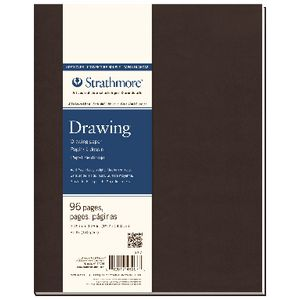 Strathmore Soft Cover Drawing Journal 7.75 x 9.75""