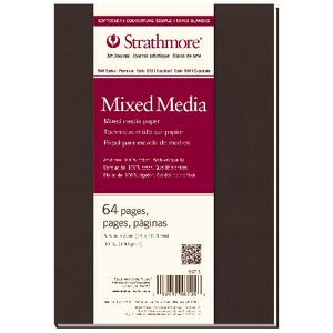 Strathmore Soft Cover Mix Media Journal 7.75 x 9.75""