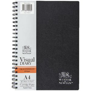 Winsor & Newton Heavyweight 200 gsm Visual Journal A4