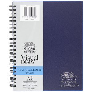 Winsor & Newton A5 Watercolour 200 gsm Visual Journal