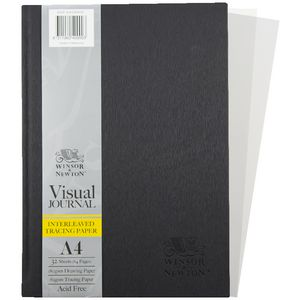 Winsor & Newton Interleaven Tissue Paper Visual Journal A4