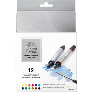 Winsor & Newton Watercolour Markers 12 Pack