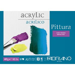 Fabriano A3 Acrylic Pad 400gsm 10 Sheet