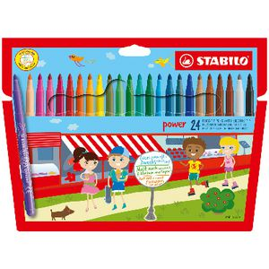 Stabilo Power Pens Assorted 24 Pack