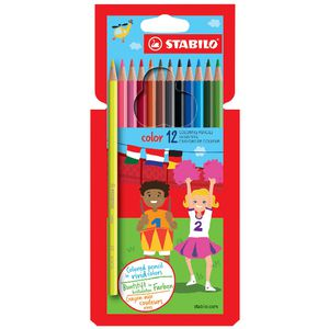 Stabilo Coloured Pencils 12 Pack