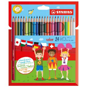 Stabilo Coloured Pencils 24 Pack