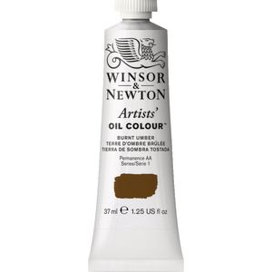 Winsor & Newton Artist Oil Colour 37mL Burnt Umber S1