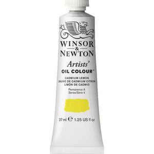 Winsor & Newton Artist Oil Colour 37mL Cadmium Lemon S4