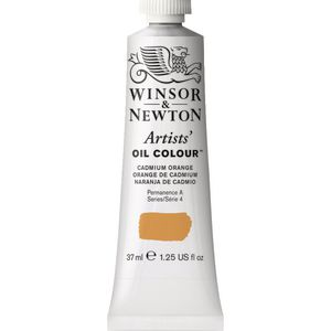 Winsor & Newton Artist Oil Colour 37mL Cadmium Orange S5
