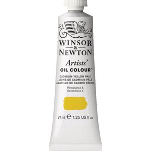 Winsor & Newton Artist Oil Colour 37mL Cadmium Yellow Pale S5