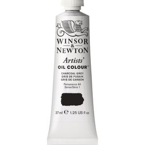 Winsor & Newton Artist Oil Colour 37mL Charcoal Grey S1