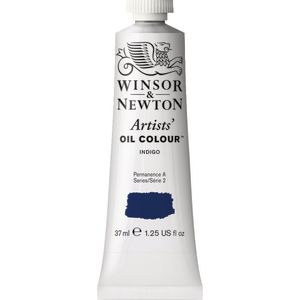 Winsor & Newton Artist Oil Colour 37mL Indigo S2