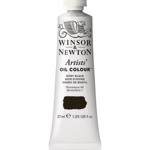 Winsor & Newton Artist Oil Colour 37mL Ivory Black S1