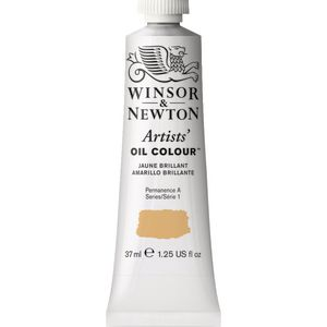 Winsor & Newton Artist Oil Colour 37mL Jaune Brilliant S1