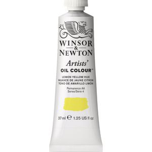 Winsor & Newton Artist Oil Colour 37mL Lemon Yellow Hue S5