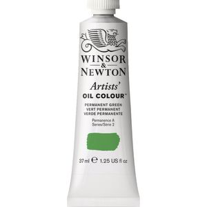 Winsor & Newton Artist Oil Colour 37mL Permanent Green S3