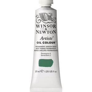 Winsor & Newton Artist Oil Colour 37mL Perm Green Deep S2