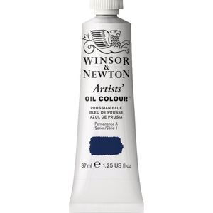 Winsor & Newton Artist Oil Colour 37mL Prussian Blue S2