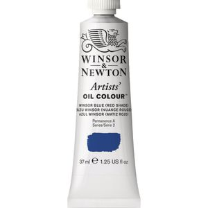 Winsor & Newton Artist Oil Colour 37mL Blue Red s3