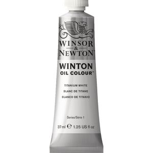 Winsor & Newton Winton Oil Colour 37mL Titanium White