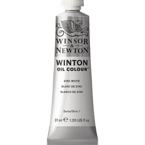 Winsor & Newton Winton Oil Colour 37mL Zinc White