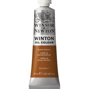 Winsor & Newton Winton Oil Colour 37mL Burnt Sienna
