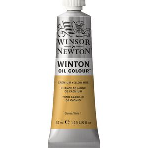 Winsor & Newton Winton Oil Colour 37mL Cadmium Yellow Hue